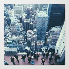 New York From Above Canvas Print