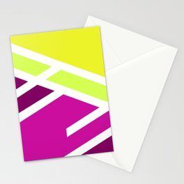 High colors - minimal Stationery Cards