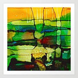 Underwater Impressions Art Print