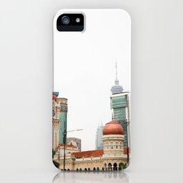 Kuala Lumpur, un petit aperçu iPhone Case