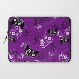 Video Game Purple Laptop Sleeve