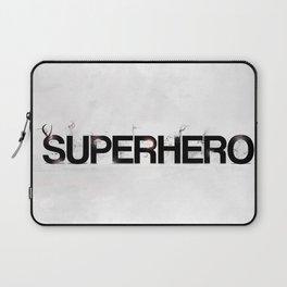 Superhero - gray wallpapers Laptop Sleeve