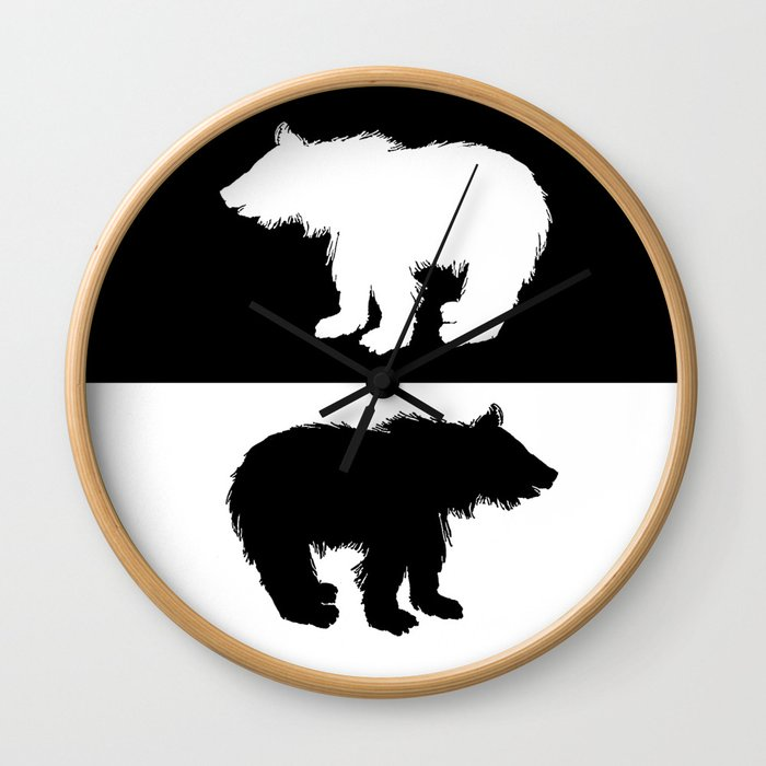 Bear Cub Wall Clock