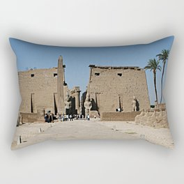 Temple of Luxor, no. 13 Rectangular Pillow