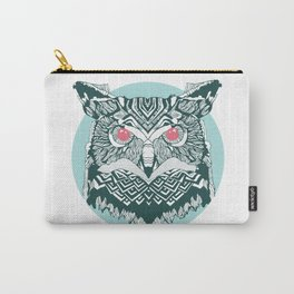 Vintage Owl Carry-All Pouch