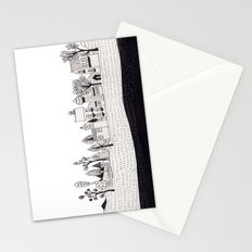 small village Stationery Cards