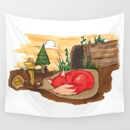 shelter. Wall Tapestry
