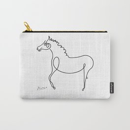 Pablo Picasso, Horse Artwork, Animals Sketch, Prints, Posters, Tshirts, Bags, Men, Women, Kids Carry-All Pouch