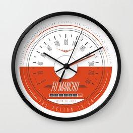 FU MANCHU - Austin, TX - 04/27/13 Wall Clock