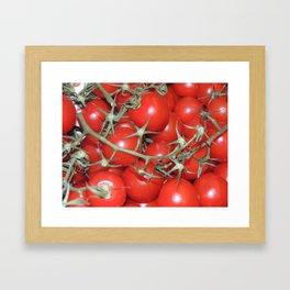 Cherrys Tomatoes Framed Art Print