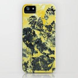YellowishBlack iPhone Case