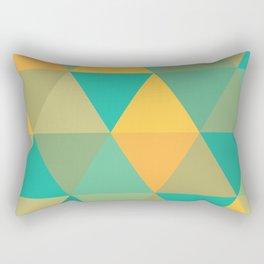 tropical rainstorm Rectangular Pillow