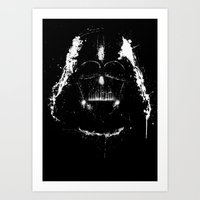 vader Art Prints featuring Vader by Purple Cactus