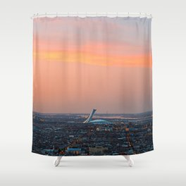 Montreal Twilight Shower Curtain