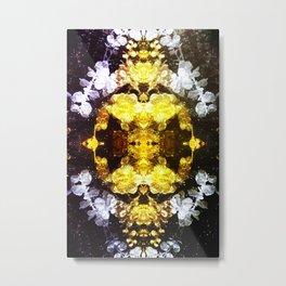 GOLD RENAISSANCE Metal Print