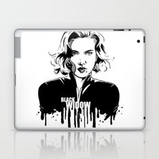 Avengers in Ink: Black Widow Laptop & iPad Skin