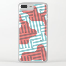 SLANTED #2 Clear iPhone Case