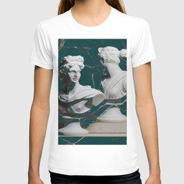 GREEK GODS GREEN MARBLE T-shirt