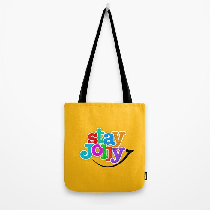 Stay Jolly - Key to Happiness Tote Bag
