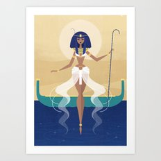 Goddess Nu Art Print