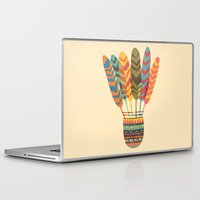 rustic Laptop & iPad Skins featuring Rustic shuttlecock by Picomodi