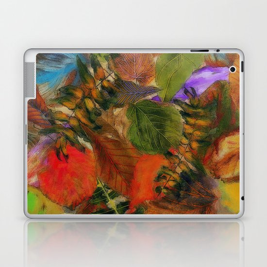 Autumn Leaf Fall 2 Laptop & iPad Skin