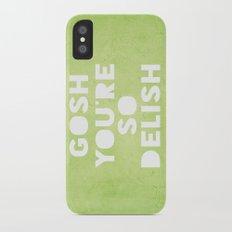 Gosh (Delish)  iPhone X Slim Case