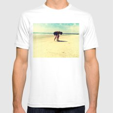 The Artist At Work Mens Fitted Tee White MEDIUM