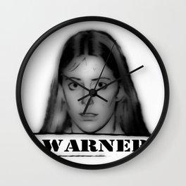 WARNER Wall Clock