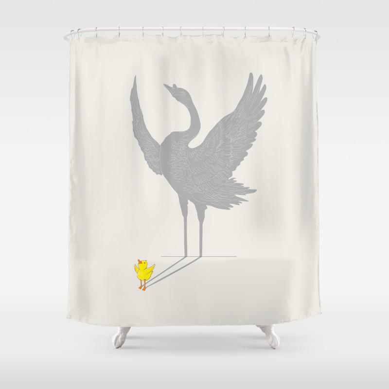 Mallard duck shower curtain - Mallard Duck Shower Curtain 40