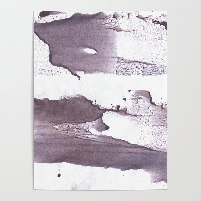 Dark purple Poster