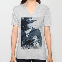 Ray Vaughan Unisex V-Neck