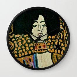 Judith - Ode to Klimt Wall Clock