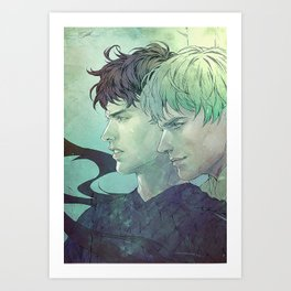 03: In The Brig Art Print