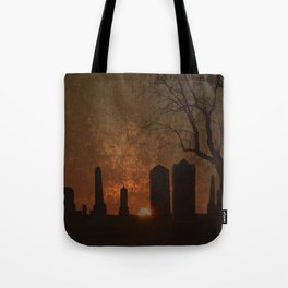 THE BEGINNING OR THE END? Tote Bag