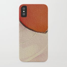 Tapas Abstract 1 iPhone Case