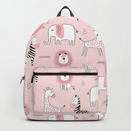 Pink Zoo Backpack