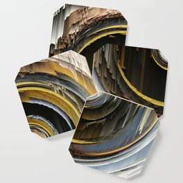 Target Rings: digital abstraction Coaster