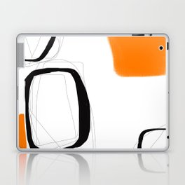 Blocks-Orange Crowd  Laptop & iPad Skin