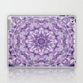 AMETHYST MANDALA Laptop & iPad Skin
