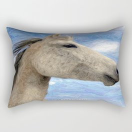 Sparkle the Arabian Mare Rectangular Pillow