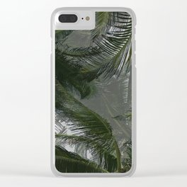 Palm View Clear iPhone Case