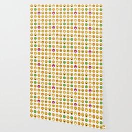 Emoticons set pattern Wallpaper