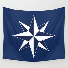 Compass Rose Wall Tapestry