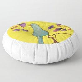 ce que la vie nous donne Floor Pillow