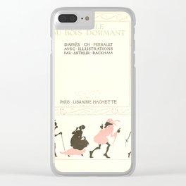 Arthur Rackham - Sleeping Beauty (1920) - Inside Decoration Clear iPhone Case