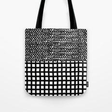 Circles and Grids Tote Bag