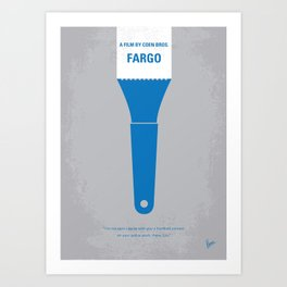 No283 My FARGO mmp Art Print