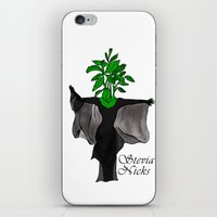stevie nicks iPhone & iPod Skins featuring Stevia Nicks by Pattavina