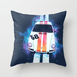 911 L Coupe Throw Pillow